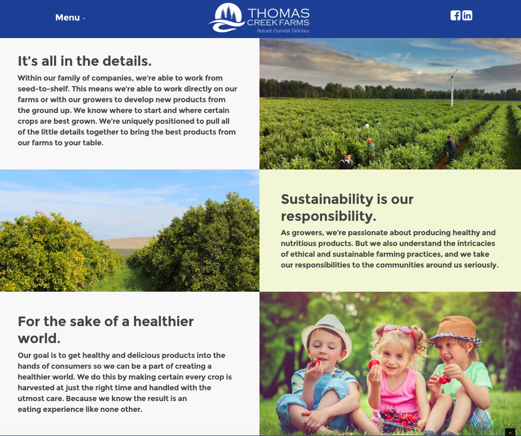 Farming and sustainability